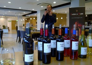 Slurping Casillero del Diablo Wine