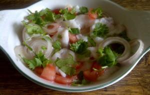 Monkfish Ceviche