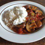 Simple Mushroom Goulash