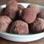 Chocolate, Beetroot and Cumin Truffles