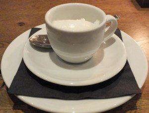 Sorbet Cup Bistro du Vin