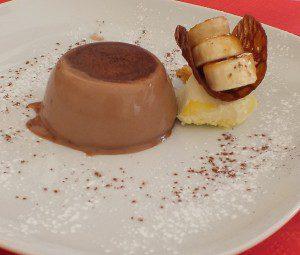 Chocolate Panacotta