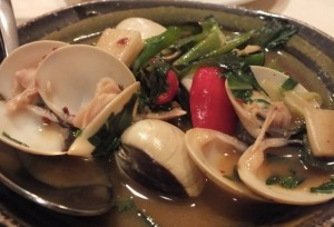 Clams at Taiwan Village Chinese London