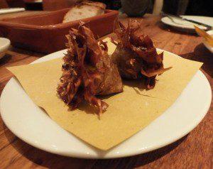 Artichoke a la guidia