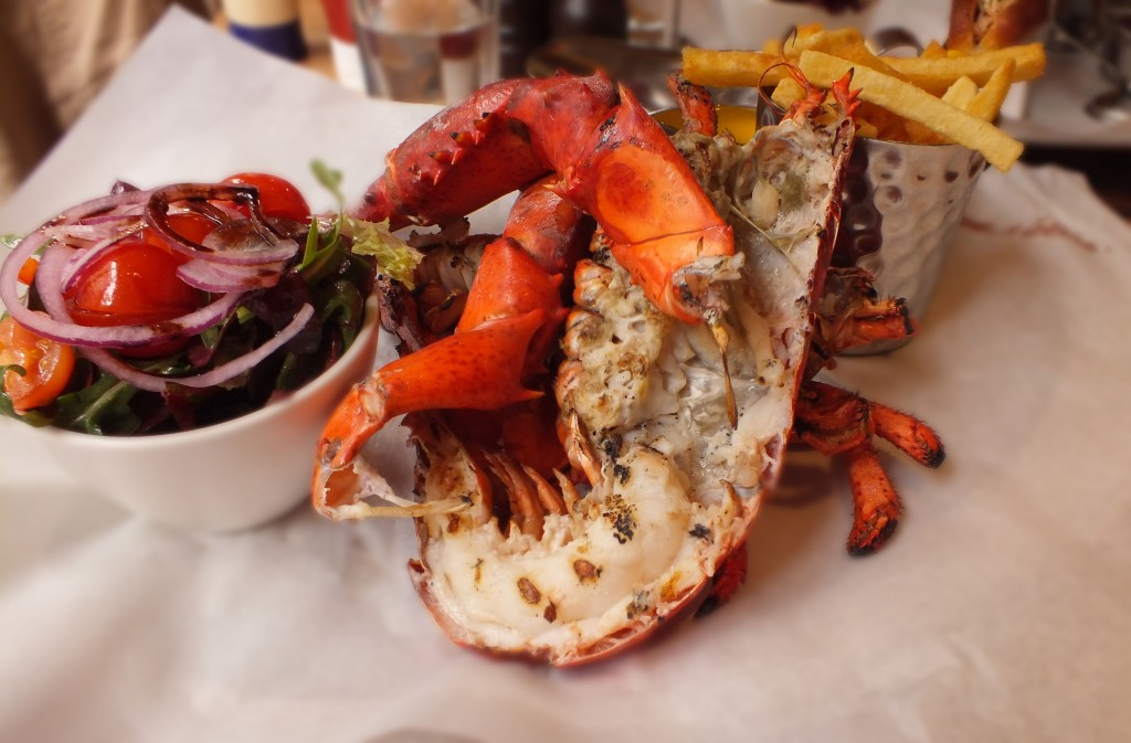 Burger and Lobster - Grilled Lobster