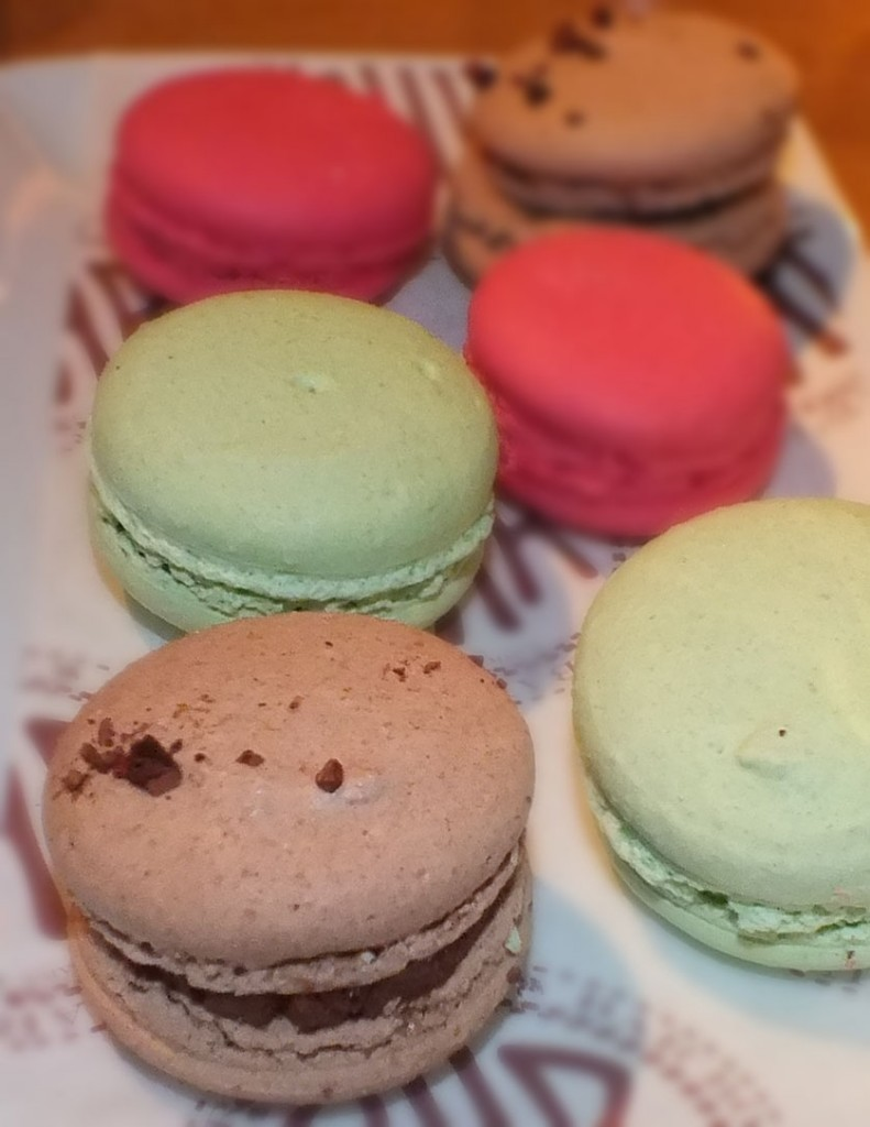 macarons Bar Boulud, Manderin Oriental, London