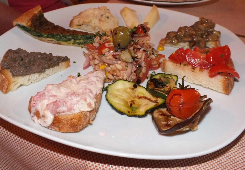 Bruschetta - Antipasti Selection