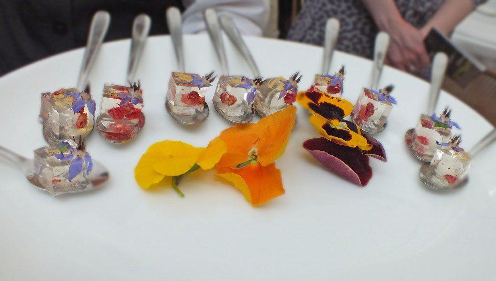 prosecco jellies - Daphnes