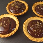 Chocolate Ganache and Fennel Pollen Tarts