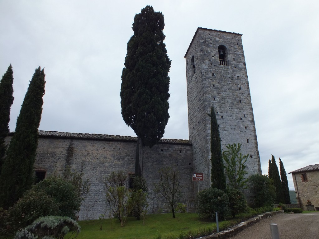 church gaioli in chianti