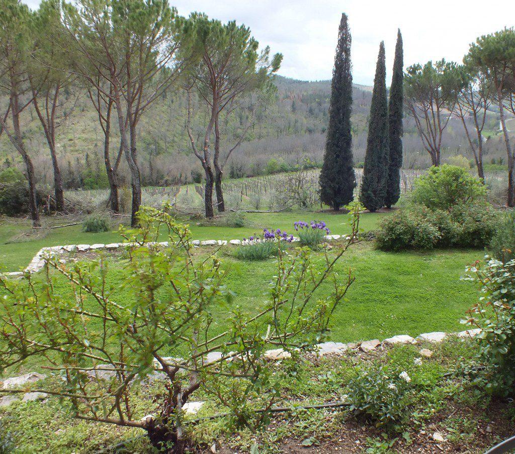 hotel garden Castello di Spaltenna Gaioli in Chianti