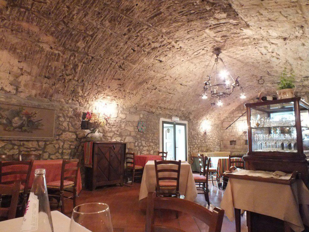 Castello di Spaltenna, Restaurant