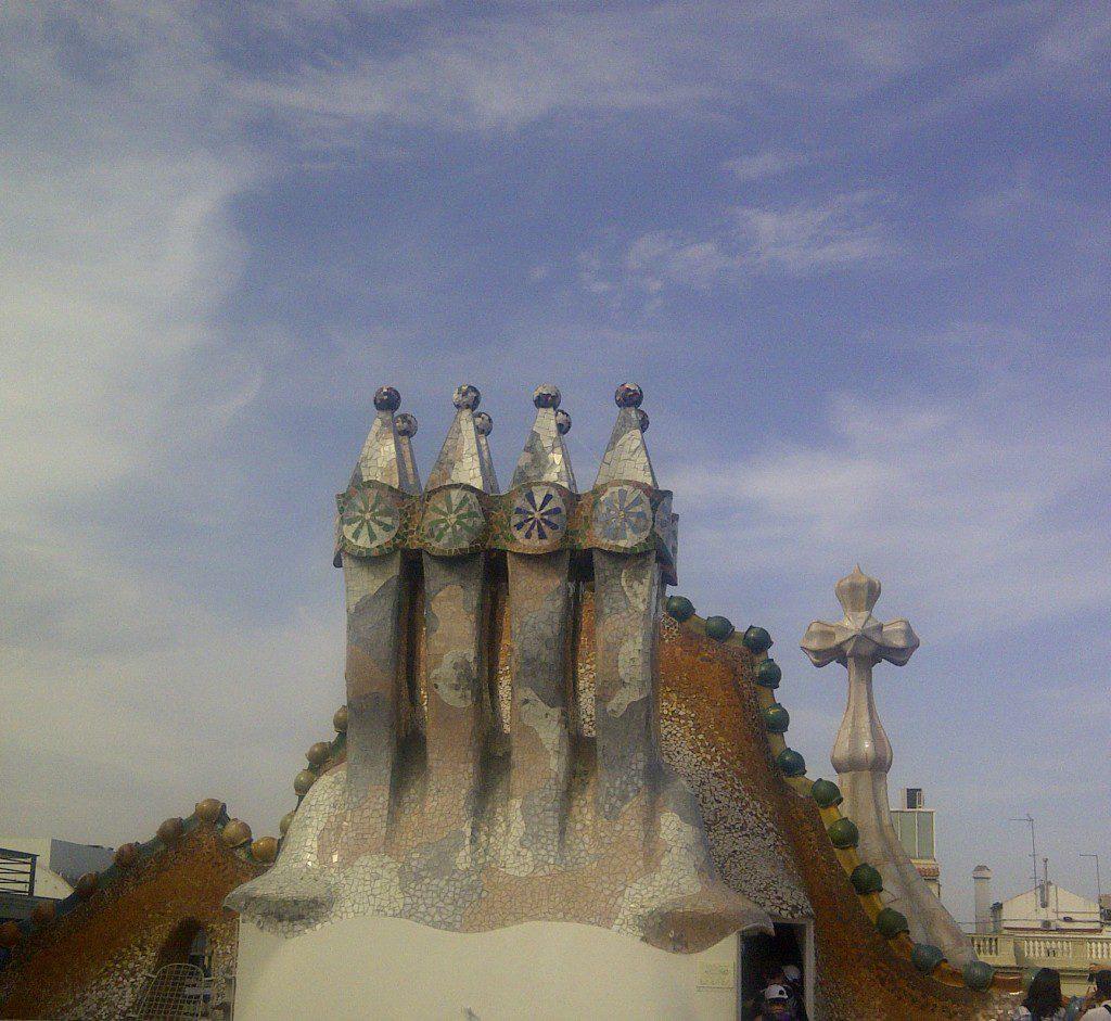 Chimney Gaudi Barcelona