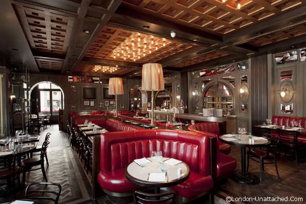 Tuttons Covent Garden- interior