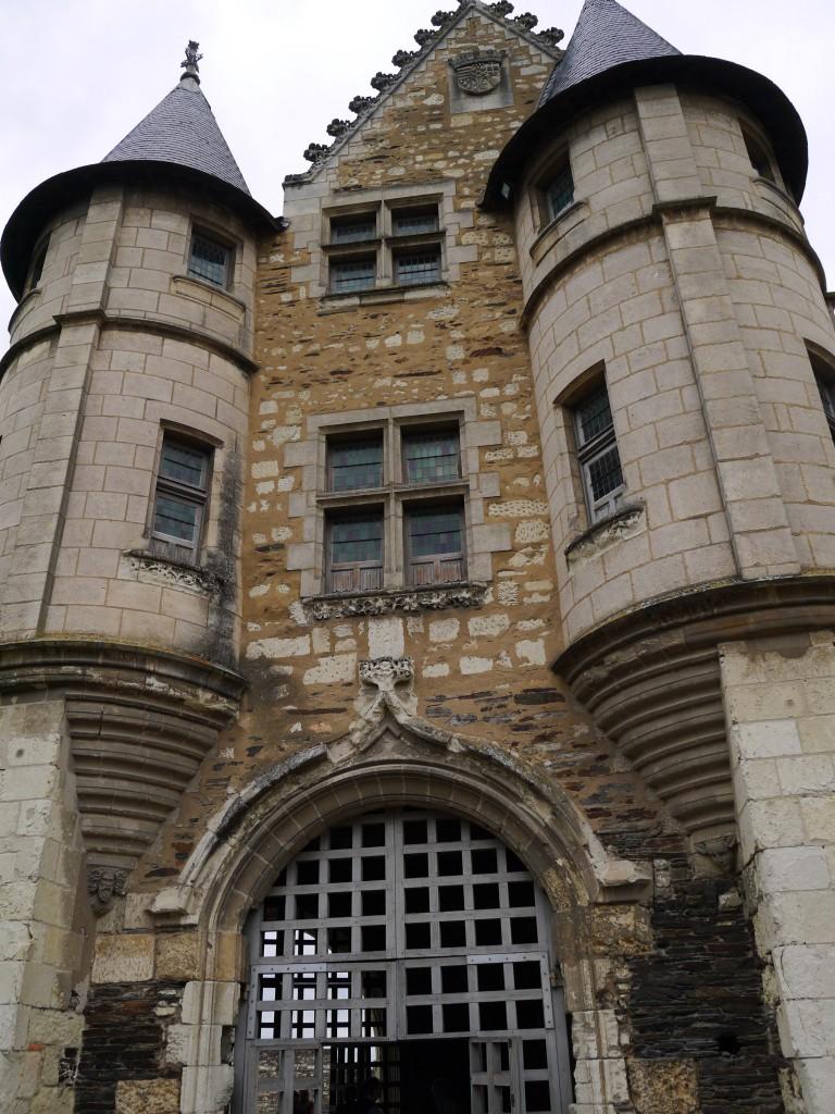 angers castle entrance
