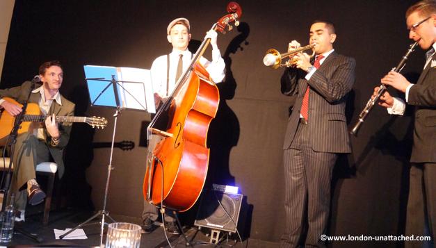 intercontinental hotel - gin and jazz band