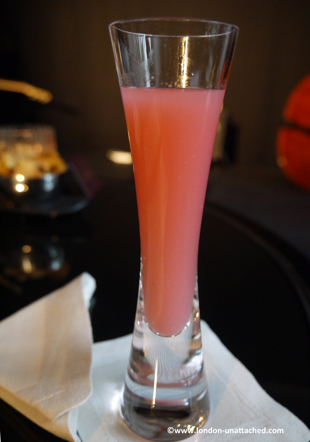 intercontinental hotel gin and jazz pink lady