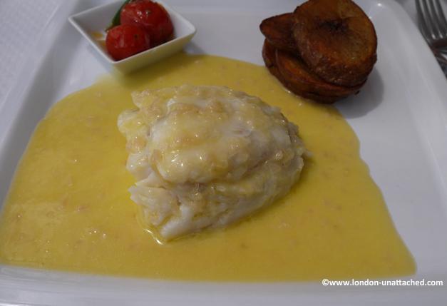la Croisette, pike in beurre blanc