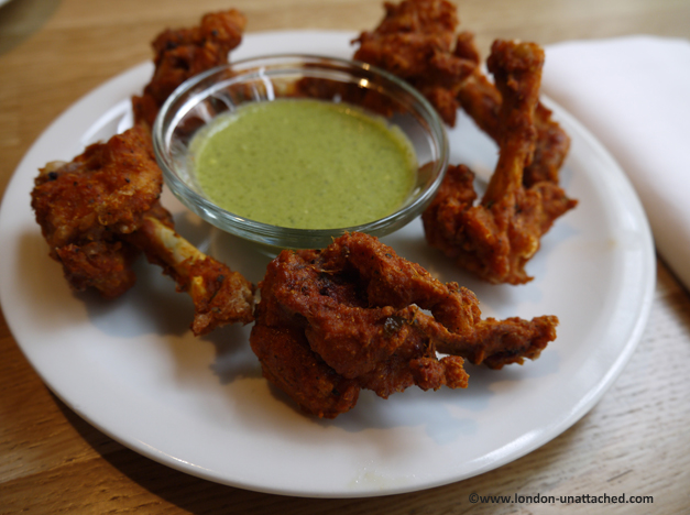 roti chai chicken lollipops