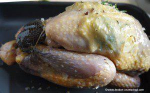uncooked guinea fowl
