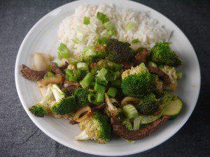 Chilli Beef Stir Fry