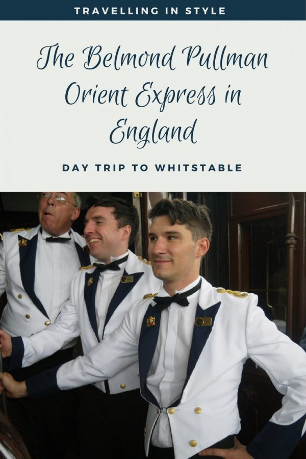 Luxury train travel in England - the Belmond Pullman - our Orient Express