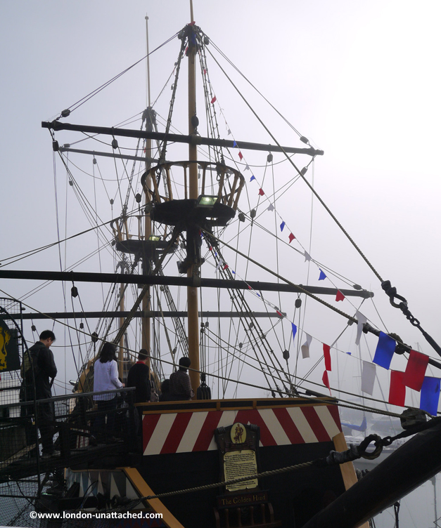 golden hind brixham