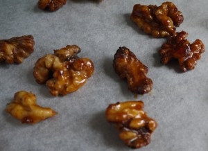 honeyed walnuts