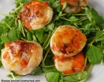 Seared Scallops for 5:2 Diet