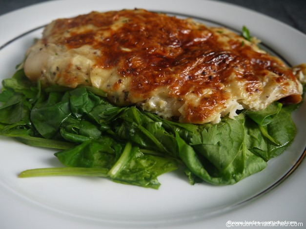 smoked haddock rarebit for 5:2 Diet