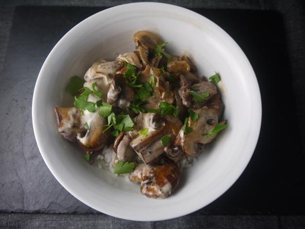 beef stroganoff 5:2 diet