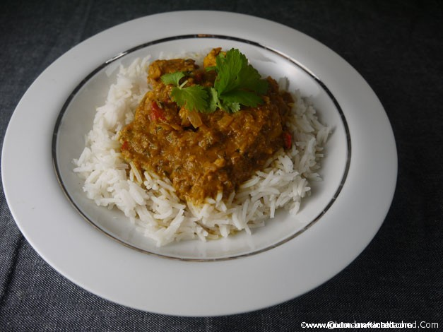 5-2 diet lemon coriander chicken curry