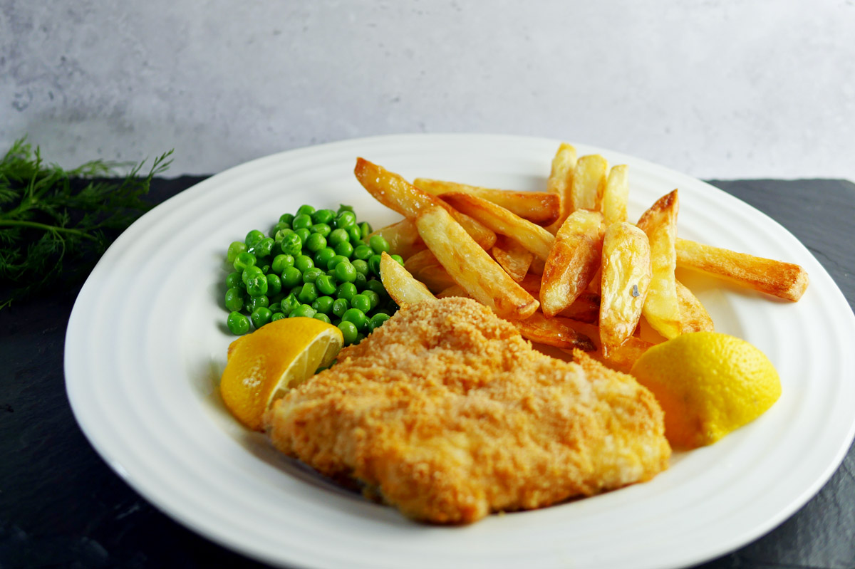 Breaded Fish and Chips