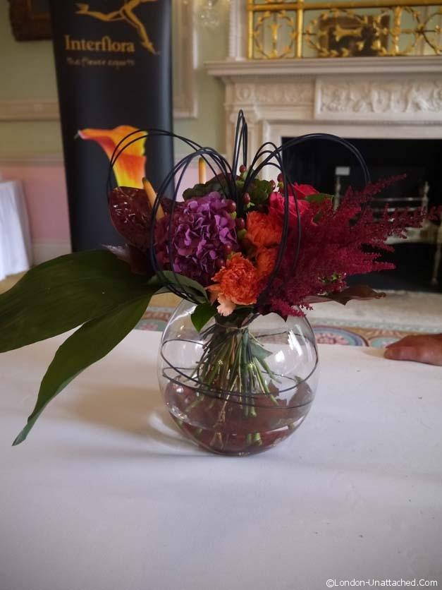bouquet in vase - interflora