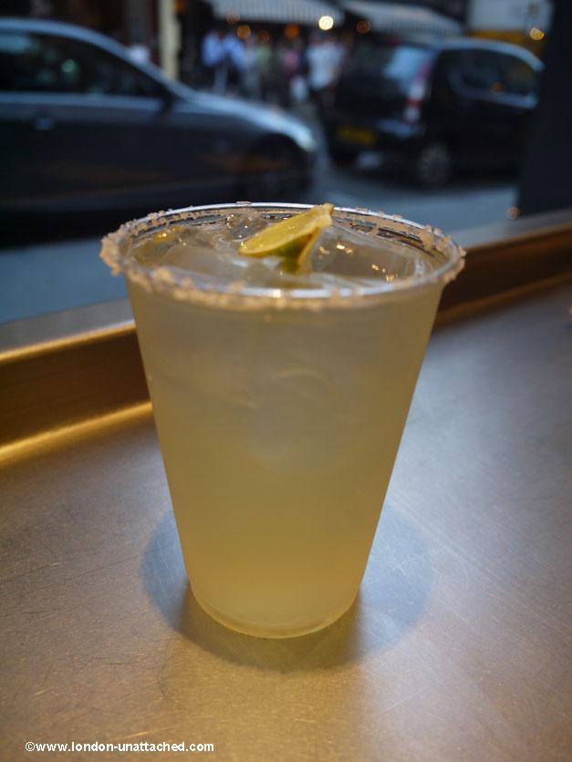 chipotle st martins lane Margarita