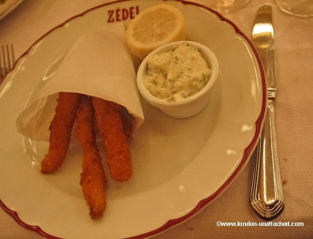 fish goujons brasserie zedel