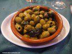 olives from spain - sesame, lemon and mint
