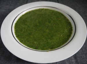 Spinach and Puy Lentil Soup