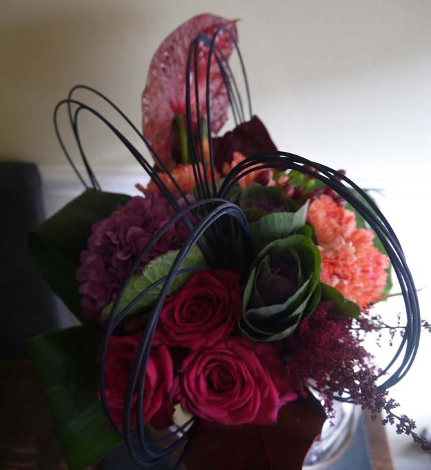tied bouquet interflora flower school