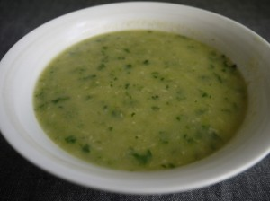 5-2 diet celeriac and watercress soup