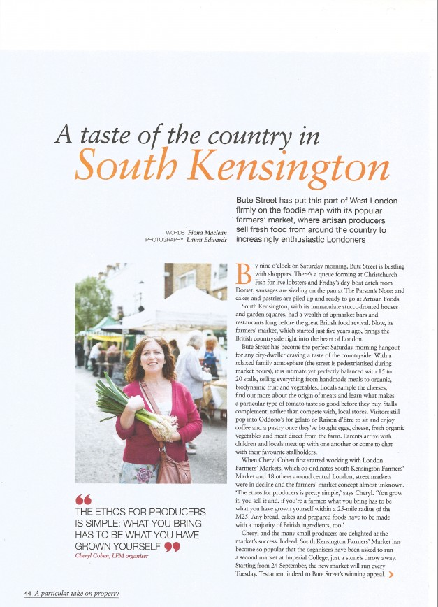 Article for &London Magazine