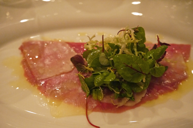 alloro veal carpaccio