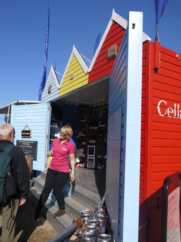 beer huts aldeburgh food festival