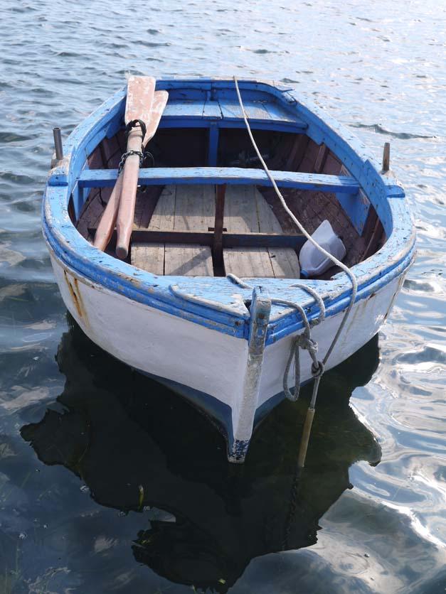 fishing boat - marzamemi sicily
