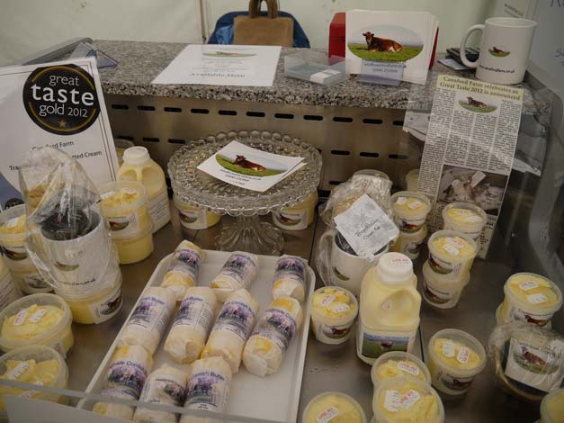 cansford farm dairy products boscastle festival