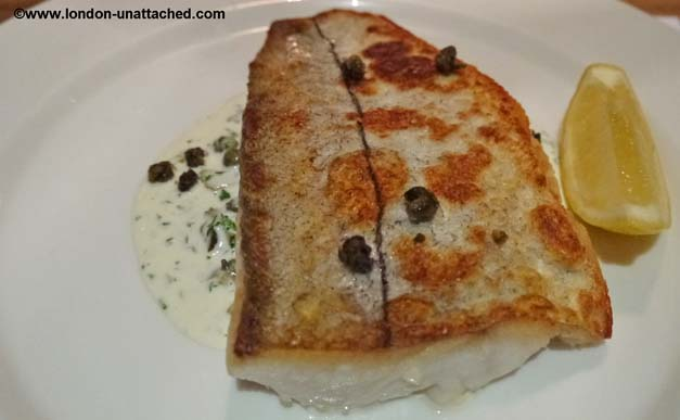 haddock with tartare sauce