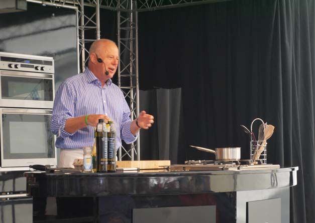matthew fort on local food aldeburgh food festival