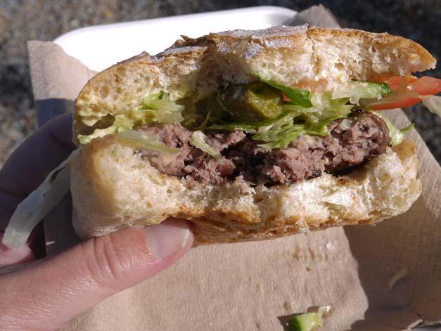 pigeon burger aldeburgh food festival