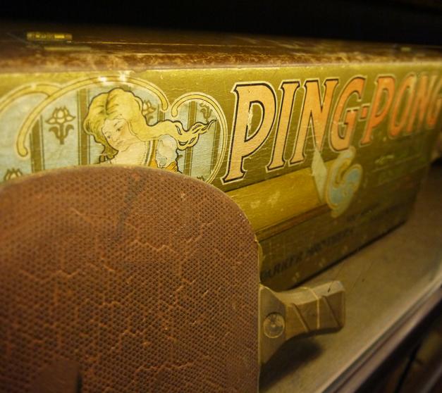 pingpong display at bounce