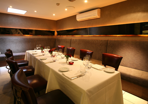 private dining alloro